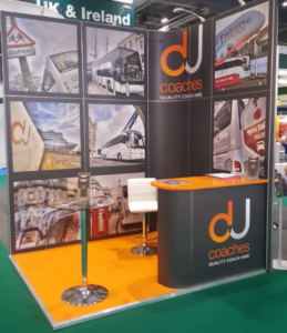 DJ Coaches Exhibition Stand Design