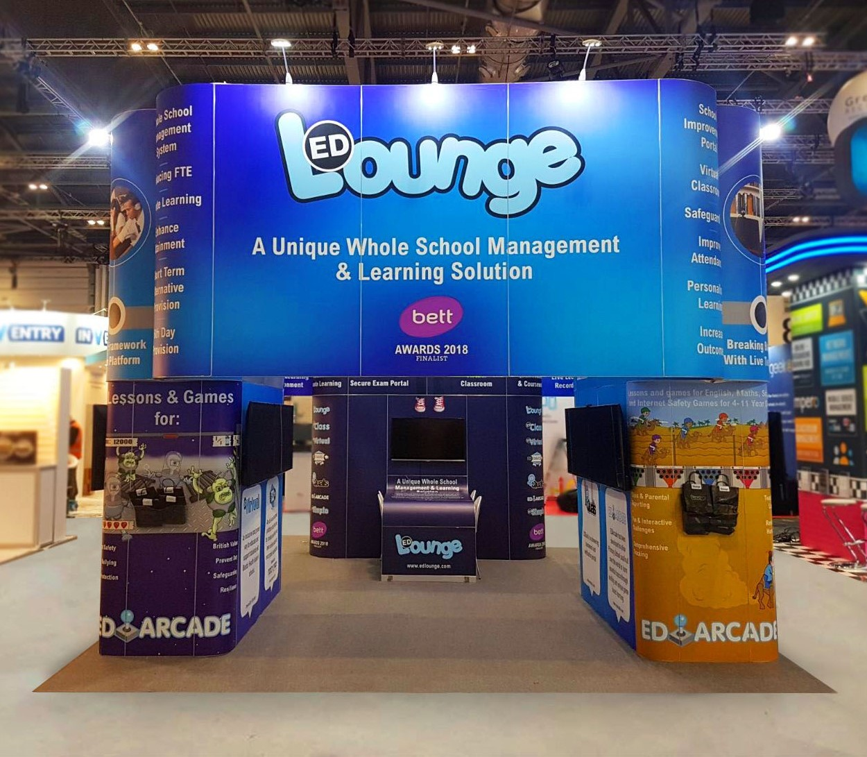 Mercer Exhibitions - Exhibition Stand Design - Lancashire